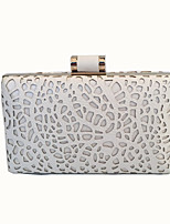 cheap -Women Bags Glasses Metal Evening Bag Crystal Detailing for Event/Party All Season White