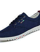 cheap -Men's Shoes PU Spring Fall Comfort Sneakers for Casual Blue Dark Grey Beige