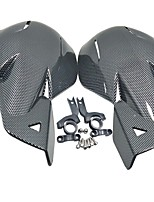 cheap -Quality Carbon Fiber Motorbike Scooter Dirt Bike Hand Guard Handle Protector