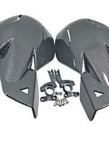 abordables -Fibre de carbone de qualité moto scooter dirt bike main garde poignée protecteur