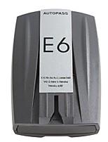 Недорогие -e6 автомобильный радиолокационный детектор лазерный светодиодный дисплей предупреждение электронная собака 360 градусов контроль скорости