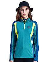 cheap -Women's Hiking Jacket Outdoor Keep Warm Windproof Top Single Slider Hiking Climbing Running