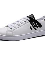 economico -Per uomo Scarpe Gomma Primavera Autunno Comoda Sneakers per All'aperto Bianco Bianco/nero Bianco e verde