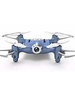 cheap -RC Drone SYMA HY21W Blue 4CH 6 Axis 2.4G With 0.3MP HD Camera RC Quadcopter WIFI FPV LED Lighting One Key To Auto-Return Headless Mode
