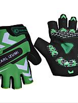 cheap -Sports Gloves Sports Gloves Bike Gloves / Cycling Gloves Wearable Breathable Anti-Shock Skidproof Fingerless Gloves Nylon Lycra Mountain