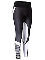 economico -Per donna Collant da corsa Asciugatura rapida Indossabile Traspirabilità Elastico Calze/Collant/Cosciali Corsa Yoga Ciclismo Esercizi di