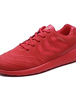 cheap -Men's Shoes Rubber Spring Fall Comfort Sneakers for Outdoor Black Red Khaki