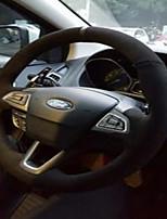 abordables -capots de volant de voiture (peluche) pour moteurs universels Ford Mondeo Kuga Edge