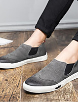cheap -Men's Shoes Pigskin Spring Fall Comfort Sneakers for Casual Gray Black