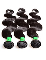 cheap -real 10a raw indian virgin hair body wave 3bundles 300g lot good quality indian remy human hair extensions weaves natural black color