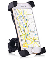 cheap -Motorcycle Bike Mobile Phone mount stand holder Adjustable Stand Universal Buckle Type Slip Resistant Silicone Holder
