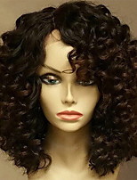 cheap -Glueless Deep Curly Lace Front Human Hair Wig With Baby Hair Brazilian Human Hair Lace Wig Pre Plcuked