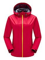 cheap -Women's Hiking Jacket Outdoor Windproof Rain-Proof Jacket Top Full Length Visible Zipper Camping / Hiking Climbing Cycling / Bike Back