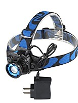 cheap -ANOWL LS2216 Headlamps LED 200 lm 3 Mode LED Portable Professional Camping/Hiking/Caving Everyday Use Diving/Boating Hunting Fishing