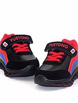 Недорогие -Девочки обувь Полиуретан Зима Удобная обувь Кеды для Повседневные Оранжевый Персиковый Красный