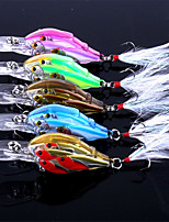 cheap -1 pcs Fishing Lures Crank g/Ounce mm inch,Plastic Sea Fishing Fly Fishing Bait Casting Spinning Jigging Fishing Freshwater Fishing