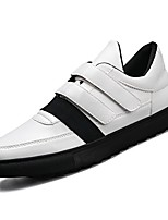 cheap -Shoes PU Spring Fall Comfort Sneakers for Casual Black White/Blue