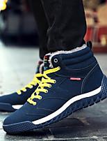 preiswerte -Herrn Schuhe PU Winter Herbst Komfort Sneakers für Normal Schwarz Dunkelblau Armeegrün