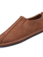 cheap -Men's Shoes Rubber Spring Fall Comfort Loafers & Slip-Ons for Outdoor Brown Gray