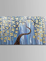 cheap -Hand-Painted Landscape Horizontal,Comtemporary Simple Modern Canvas Oil Painting Home Decoration One Panel
