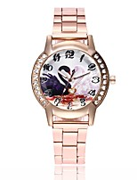 cheap -Women's Simulated Diamond Watch Wrist watch Dress Watch Chinese Quartz Casual Watch Alloy Band Casual Silver Gold Rose Gold