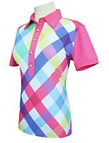 economico -Per donna Golf T-shirt Asciugatura rapida Antivento Indossabile Traspirabilità Golf Attività all'aperto