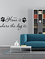 cheap -Words & Quotes Shapes Wall Stickers Plane Wall Stickers Decorative Wall StickersVinyl Home Decoration Wall Decal Window Wall