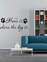 economico -Parole e citazioni Forma Adesivi murali Adesivi aereo da parete Adesivi decorativi da parete,Vinile Decorazioni per la casa Sticker murale