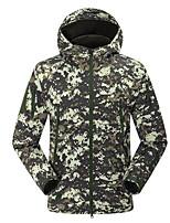 cheap -Men's Hiking Fleece Jacket Outdoor Winter Keep Warm Fast Dry Wearable UV resistant Top Single Slider Running/Jogging Camping / Hiking