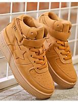 preiswerte -Jungen Schuhe Künstliche Mikrofaser Polyurethan Frühling Herbst Komfort Sneakers für Normal Schwarz Khaki