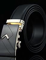 cheap -Men's Casual Leather Waist Belt