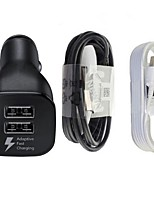 cheap -Car Charger Phone USB Charger Universal Charger Kit Multi Ports 150 2 USB Ports 3.1A DC 5V