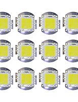 cheap -70W COB 5600LM 3000-3200K/6000-6200K Warm White/White LED Chip DC30-36V 12Pcs