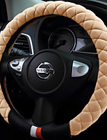 cheap -Automotive Steering Wheel Covers(Leather Artificial Wool)For universal General Motors
