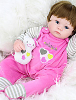 cheap -Girl Doll Dolls Reborn Baby Doll Toys People Handmade Child Safe Newborn lifelike Parent-Child Interaction New Design Princess Silicone