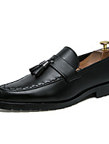 cheap -Men's Shoes Leatherette Spring Summer Formal Shoes Oxfords for Wedding Party & Evening Black Brown
