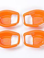 Недорогие -автомобильная внутренняя дверная чаша diy автомобильные салоны для джип-ренегат-пластик