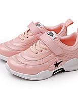 Недорогие -Девочки Мальчики обувь Тюль Весна Осень Удобная обувь Кеды для Повседневные на открытом воздухе Черный Серый Розовый