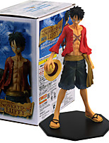 cheap -Anime Action Figures Inspired by One Piece Monkey D. Luffy PVC 26 CM Model Toys Doll Toy