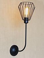 baratos -Proteção para os Olhos Vintage Luminárias de parede Para Sala de Estar Metal Luz de parede 220V