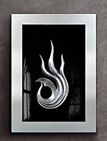 cheap -Abstract Oil Painting Wall Art,Wood Material With Frame For Home Decoration Frame Art Indoors