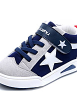 cheap -Boys' Shoes Fabric Spring Fall Comfort Sneakers for Casual Peach Gray Dark Blue