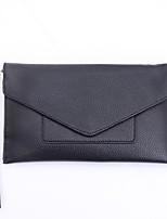 preiswerte -Damen Taschen PU Unterarmtasche Knöpfe für Normal Alle Jahreszeiten Schwarz