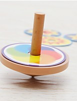 cheap -Spinning Top Toys Focus Toy Relieves ADD, ADHD, Anxiety, Autism Round Beech Wood Others Pieces Kids' Adults' Gift
