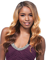cheap -Women Synthetic Wig Capless Long Body Wave Brown Ombre Hair Natural Wigs Costume Wig
