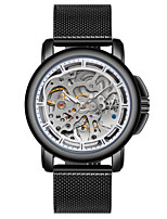 cheap -Tevise Men's Mechanical Watch Chinese Automatic self-winding Water Resistant / Water Proof Stainless Steel Band Luxury Casual Cool Black