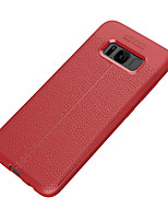 preiswerte -Hülle Für Samsung Galaxy S8 Plus S8 Ultra dünn Rückseite Volltonfarbe Weich TPU für S8 Plus S8 S7 edge S7