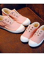 cheap -Boys' Girls' Shoes Canvas Spring Fall Comfort Sneakers for Casual Pink Red Yellow Gray Dark Blue
