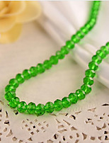 cheap -DIY Jewelry 48 pcs Beads Resin Brown Red Green Light Pink Royal Blue Round Bead 0.8 cm DIY Necklace Bracelet