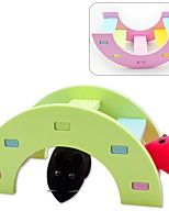 cheap -Wood Portable Toys Pink Green